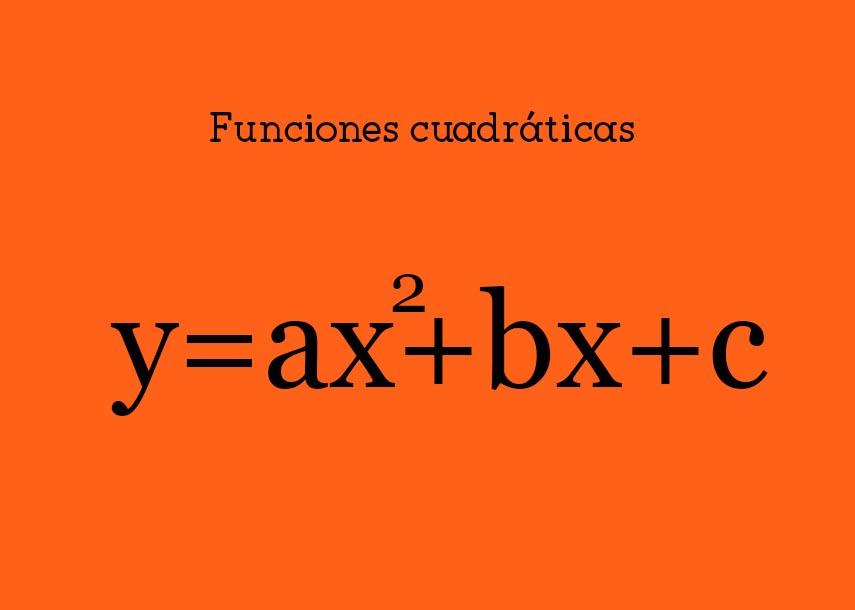 funcionescuadráticas