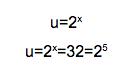 ecuaciones exponenciales resueltas
