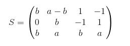 rango de una matriz