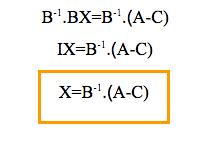 Ecuaciones con matrices