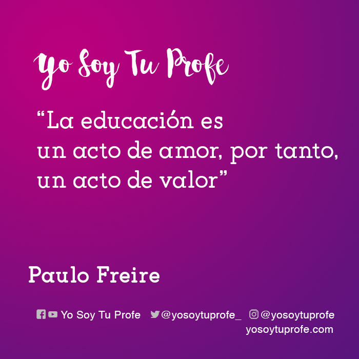 citas de Paulo Freire