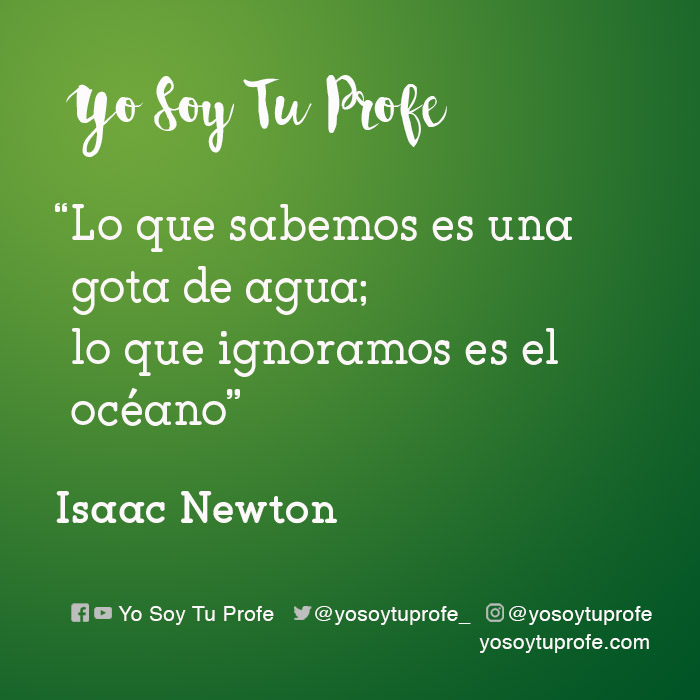 isaac newton citas sobre educación