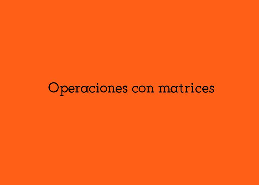operacionesconmatrices