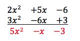 suma y diferencia de polinomios