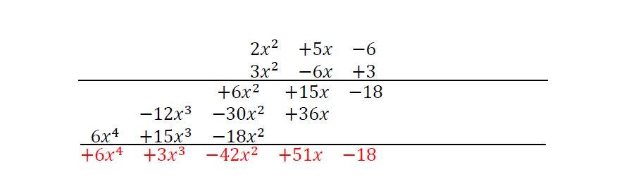 Producto de polinomios YSTP