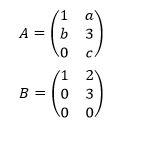 Tipos de matrices