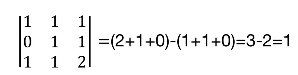 discusión de un sistema de ecuaciones