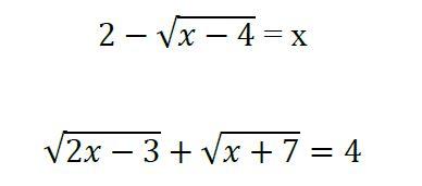 Te Animas A Resolver Estas Ecuaciones Con Radicales Yo Soy Tu Profe