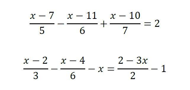 Ecuaciones De Primer Grado Con Fracciones Listas Para Practicar Yo Soy Tu Profe