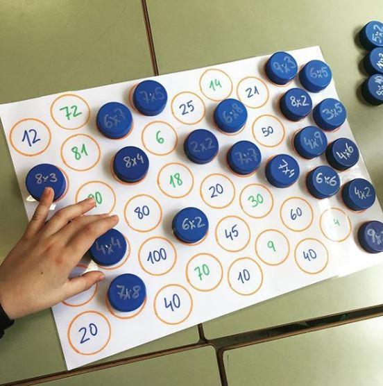 recursos para aprender las tablas de multiplicar