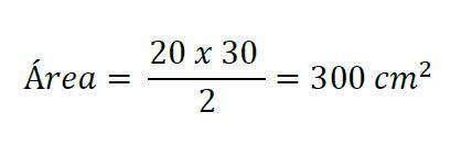 área y perímetro de un triangulo