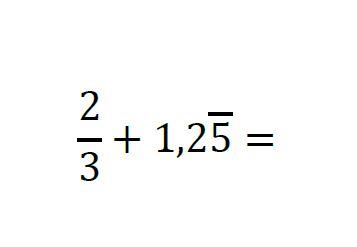 decimal periódico mixto a fracción