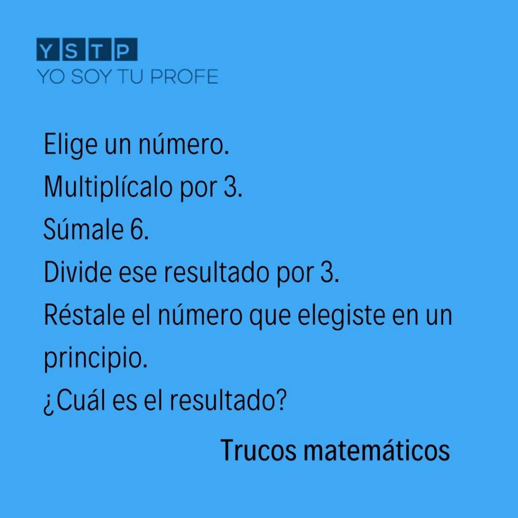 Trucos matemáticos