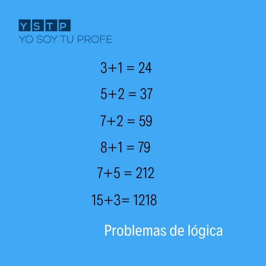 5 Problemas De Logica Que Te Pondran A Prueba Trata De Resolverlos Yo Soy Tu Profe