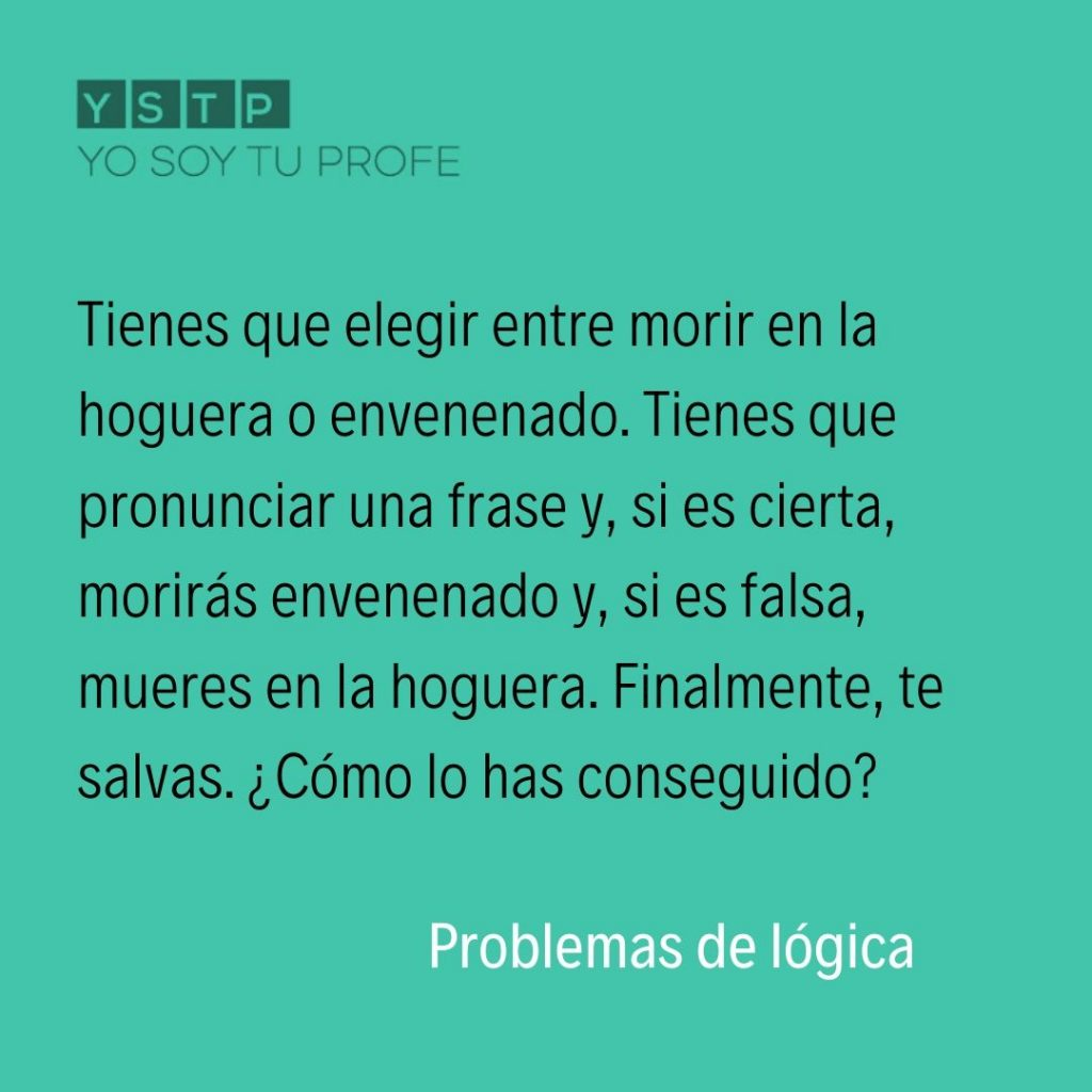 problemas de lógica