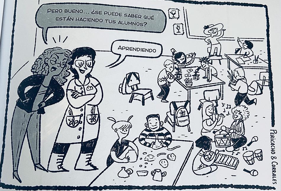 viñetas críticas para docentes