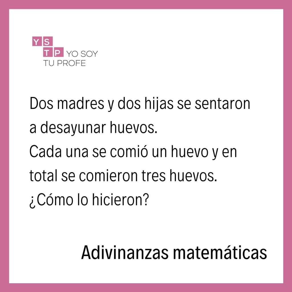 adivinanzas matemáticas
