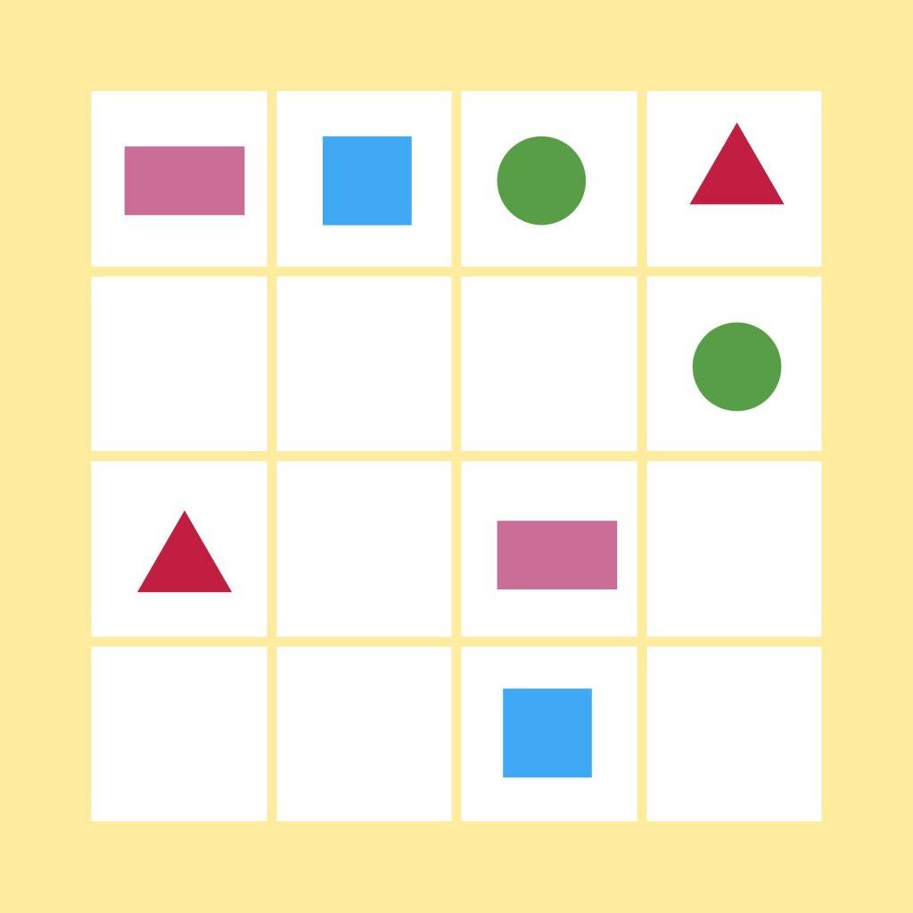 Sudokus geométricos ¿Te animas a jugar? - Yo Soy Tu Profe