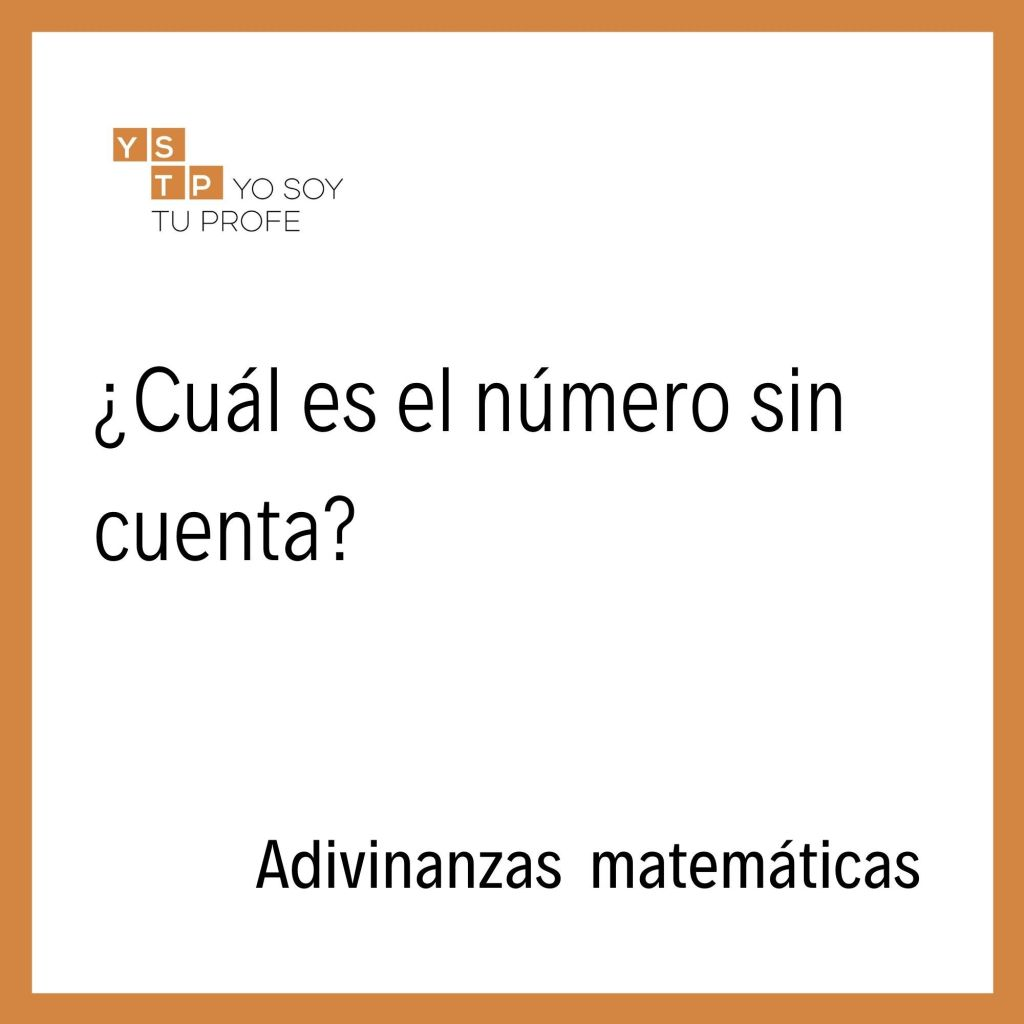 adivinanzas y acertijos matemáticos