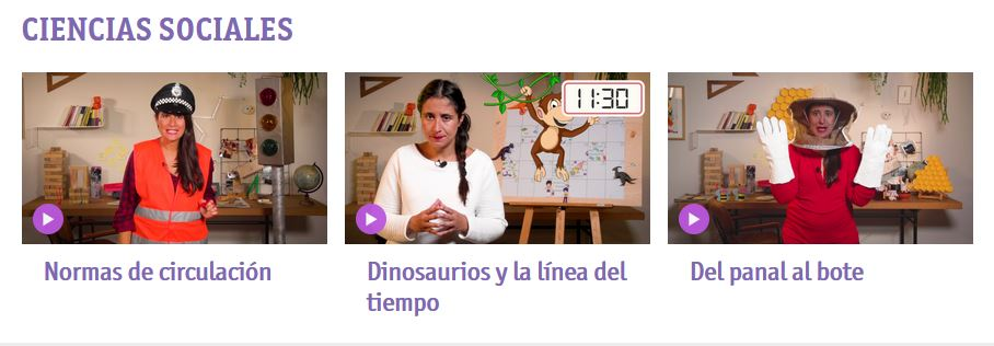 Videos educativos para primaria